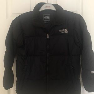Boys north face full zip Down jacket